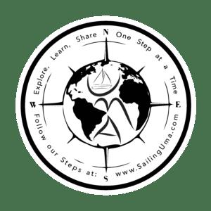 Sailing Uma Sticker
