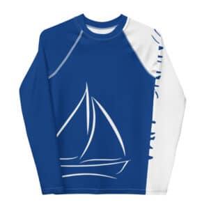 Teen Sailor – UMA RashGuard (Blue)